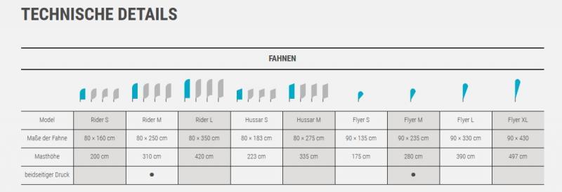 Fahne Rider