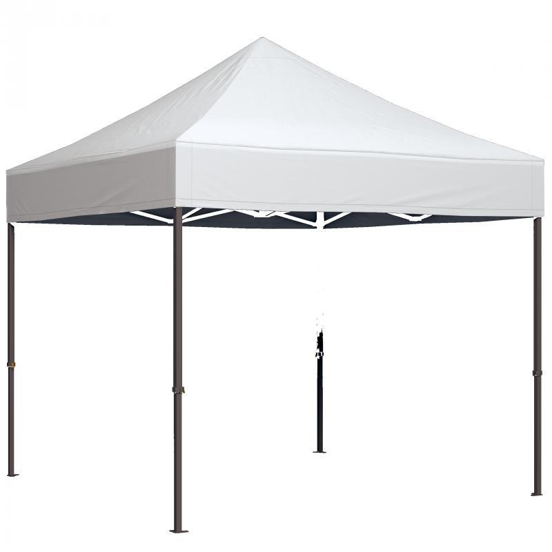 Profi Zelte mit 100% Dachdruck + 24 Standardfarben