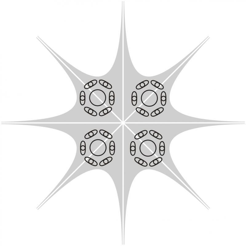 Sternzelt Jehlan Static ohne individuellen Druck