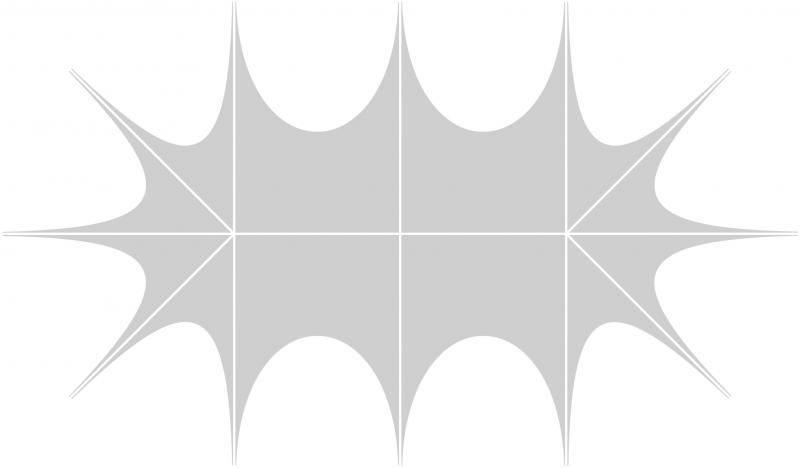 Profi Zelte B1 100% Dachdruck + Standardfarben