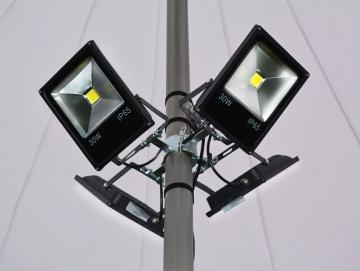 Sternzelt LED Beleuchtung