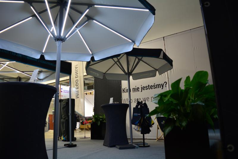 Schirm Palermo in Profi Qualität 3,5 Meter