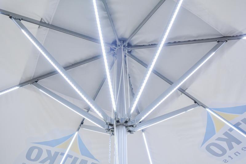 Schirm Milano in Profi Qualität 4 Meter